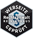 Geprüfte Website - Rechtsanwalt Reihninghaus
